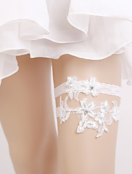 cheap -Elastic Wedding Garter with Pearl Wedding AccessoriesClassic Elegant Style