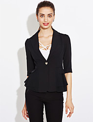 cheap -Women's Work Casual Spring Summer Blazer