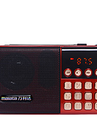abordables -T6 FM Radio portable Lecteur MP3 Carte TF