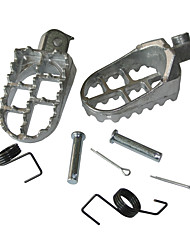 cheap -Aluminum Dirt Pit Bike Mini Motocross Foot Peg Rest Footpegs 70-150CC