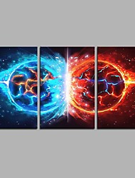 cheap -A Song of Ice and Fire 3 Panels Hand-painted Oil Paintings on Canvas Modern Artwork Wall Art for Room Decoration 20x28inchx3