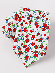 Men's Fashion Casual Floral Printing Narrow Version Of The Tie