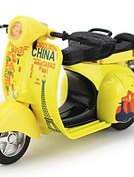 abordables -MINGYUAN Petites Voitures Véhicules à Friction Arrière Moto Jouets Moto Mouton Plastique Alliage de métal Enfant 1 Pièces