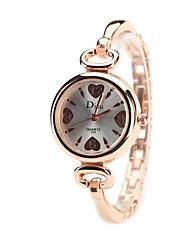 cheap -Women's Dress Watch Fashion Watch Wrist watch Simulated Diamond Watch Chinese Quartz Imitation Diamond Alloy Band Charm Heart shape