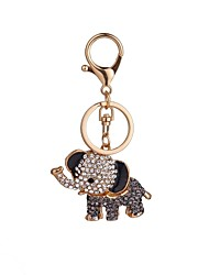 cheap -The Elephant Modelling Alloy Key Chain The High Grade Of A Girl's Bag Decorated With Car Hang Decoration