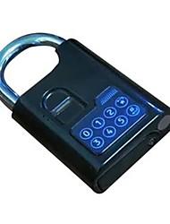 KO Alloy Electronic Fingerprint Password Padlock Without Key DC Electronic Door Lock Account Warehouse Logistics Car Lock