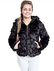 cheap -Women's Going out Daily Casual Fall Winter Jacket