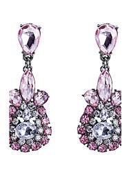Women's Drop Earrings Crystal Cubic Zirconia Basic Gothic Luxury Simple Style Classic Fashion Vintage Bohemian Punk Adjustable