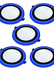 cheap -JIAWEN 6W 2835 LEDs Decorative LED Panel Lights Natural White Blue AC 85-265VV