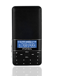 cheap -DS-178 FM Portable Radio MP3 Player TF CardWorld ReceiverBlack