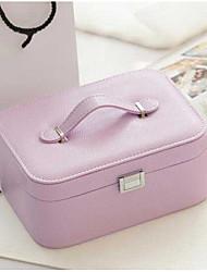1pc сиреневый цвет простой европейский стиль корейский ручная коробка для хранения ювелирных изделий