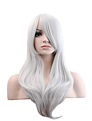 cheap -Synthetic Hair Wigs Natural Wave Capless Natural Wigs Long Synthetic Wig