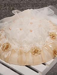 preiswerte -tüll nachahmung perle stoff silk net fascinators kopfschmuck eleganten stil