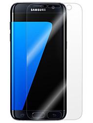 Недорогие -Защитная плёнка для экрана для Samsung Galaxy S7 edge / S7 / S6 edge plus PET Защитная пленка для экрана Против отпечатков пальцев