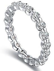 cheap -Women's Band Rings Cubic Zirconia Personalized Luxury Classic Basic Sexy Love Fashion Cute Style Elegant Zircon Alloy Geometric Jewelry