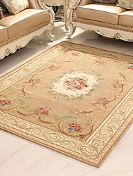 cheap -Area Rugs Casual Polyester, Rectangle Superior Quality Rug / Non Skid
