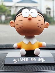 Недорогие -Diy автомобильные украшения doraemon set nobita покачал головой кулон автомобиля&Украшения из нефрита