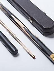 cheap -One-piece Cue Cue Sticks & Accessories Snooker / English Billiards Ash / Ebony 1.45 m