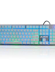 A-jazz jjzs herní klávesnice mechanické touch3-color backlight19key anti-duchování