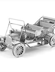 Недорогие -3D пазлы Пазлы Металлические пазлы Автомобиль 3D Своими руками Нержавеющая сталь Металл 6 лет и выше