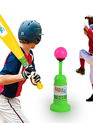 economico -Palline Set giocattoli per baseball Gioco educativo Anti-stress Golf Baseball Materiale ecologico ABS Unisex Regalo 1pcs