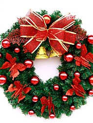 cheap -40cm High Quality Round Garland Holiday Christmas Decoration