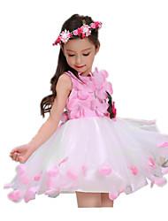 Princesse Conte de Fée Une Pièce Robes Unisexe Fille Halloween Carnaval Fête / Célébration Déguisement d'Halloween Rose Claire Rétro