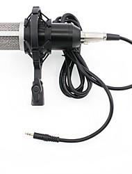 baratos -BM-800 Com Fio Microfone Microfone Condensador Microfone Portátil Para PC
