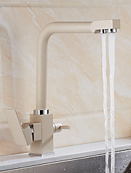 cheap -Modern/Contemporary Vessel Rotatable Water Filtration Ceramic Valve Other , Kitchen faucet
