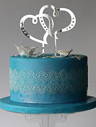 Decoración de Pasteles Corazones Boda Ocasión especial Cumpleaños Con Bolsa PVC