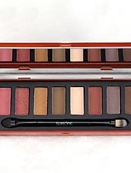 1PCS Iron Box 8 Color Eye Shadow Professional Nude Eyeshadow Palette Makeup Matte Eye Shadow Palette Make Up Glitter Eyeshadow