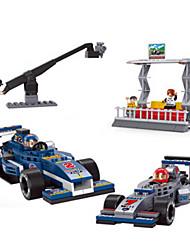 cheap -Toy Cars Building Blocks Race Car Toys Car Plastics Boys Pieces
