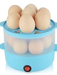 Eierkocher Doppel-Eierstöpsel 2 in 1 Multifunktion Kreativ Licht und Bequem Ministil Leichtes Gewicht Abnehmbar 220V