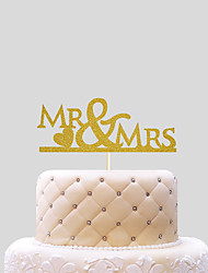 Cake Topper Wedding Hearts Paper Wedding With PVC Bag Wedding Reception