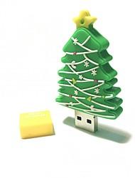 16gb natal usb flash drive cartoon criativo árvore de natal presente de natal usb 2.0