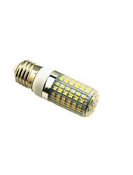 Недорогие -4W E27 Двухштырьковые LED лампы T 96 светодиоды SMD 3528 Декоративная Тёплый белый 350lm 3000K AC220 AC 12V