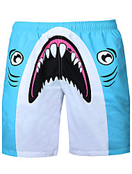 cheap -Men's Low Rise Stretchy Loose Shorts Pants,Active Street chic Punk & Gothic Print Summer