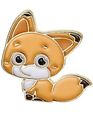 cheap -Women's Brooches Jewelry Animal Design Classic Alloy Geometric Fox Assorted Color Jewelry For Party Graduation