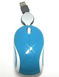 Mini souris rétractable portable