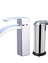 cheap -Centerset Ceramic Valve One Hole Faucet Set