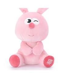 Недорогие -Rabbit Поросенок Овечья шерсть Мягкие и плюшевые игрушки Милый стиль Животные Хлопок Девочки Подарок