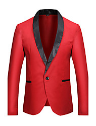 cheap -Men's Slim Blazer - Solid