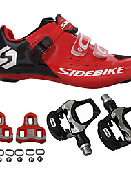 cheap -BOODUN® Mountain Bike Shoes Bike Cycling Shoes With Pedals & Cleats Adults' Cushioning Mountain Bike Outdoor Cycling Cycling / Bike
