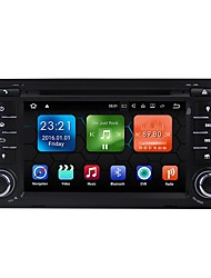 cheap -7inch 2 DIN 1024 x 600 Android 7.1 Car DVD Player  for Audi High Definition / Bluetooth / Built-in Bluetooth 617 AVI / CD / VCD