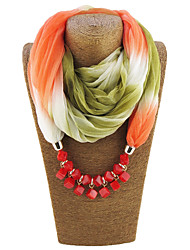 cheap -Women's Polyester Infinity Scarf Print All Seasons