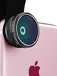 lentes de câmera do smartphone ykcloud lente grande angular 0.65x lente focal longa de 2x lente macro de 10x lente de olho de peixe cpl