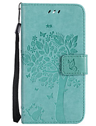 cheap -Case For LG G3 Mini / LG G3 / LG K8 Wallet / Card Holder / with Stand Full Body Cases Cat / Tree Hard PU Leather for LG X Power / LG V20 / LG V10 / LG G4 / LG K10
