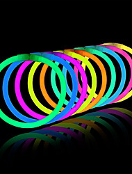 Light up Toys Glow Stick Bracelets Mixed Colors Party Favors Supplies (Tube of 20)