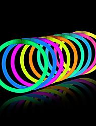 illumini i giocattoli del bastone del bastone di incandescenza dei colori misti i favori di festa del partito (tubo di 20)