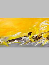Pintados à mão Abstrato Artistíco Abstracto Ao ar Livre 1 Painel Tela Pintura a Óleo For Decoração para casa
